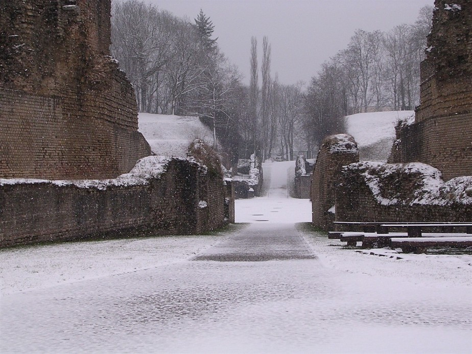 Trier, Germany – February 2006 – Roman Empire Sites