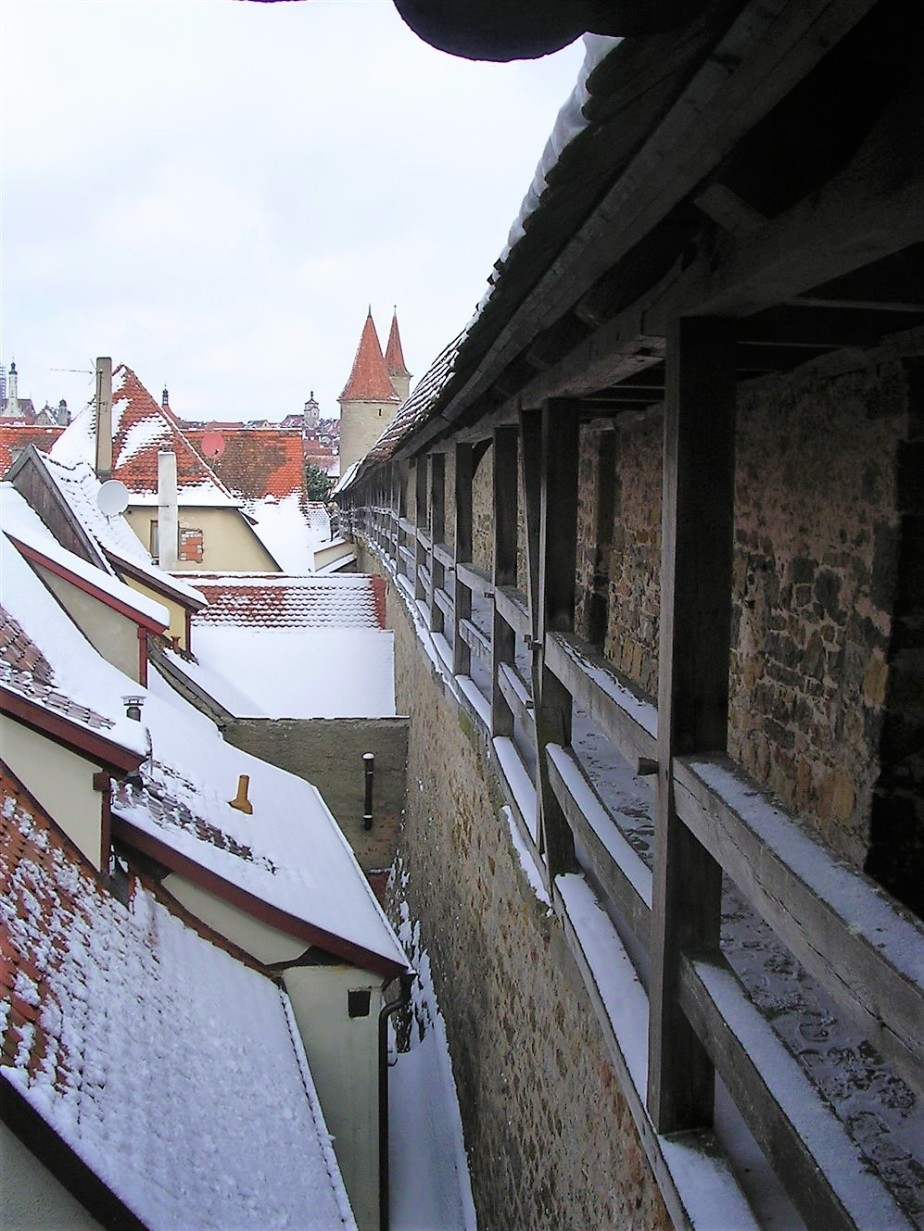 Rothenburg, Germany – March 2006 – A Day in a MedevialTown