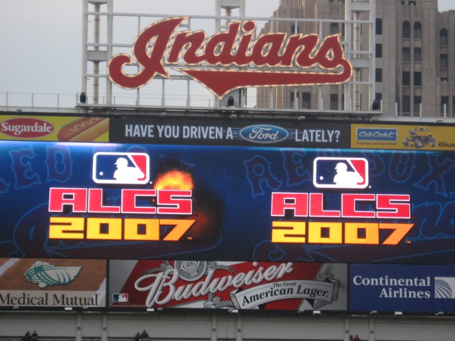 2007 10 15 7 ALCS Cleveland.jpg