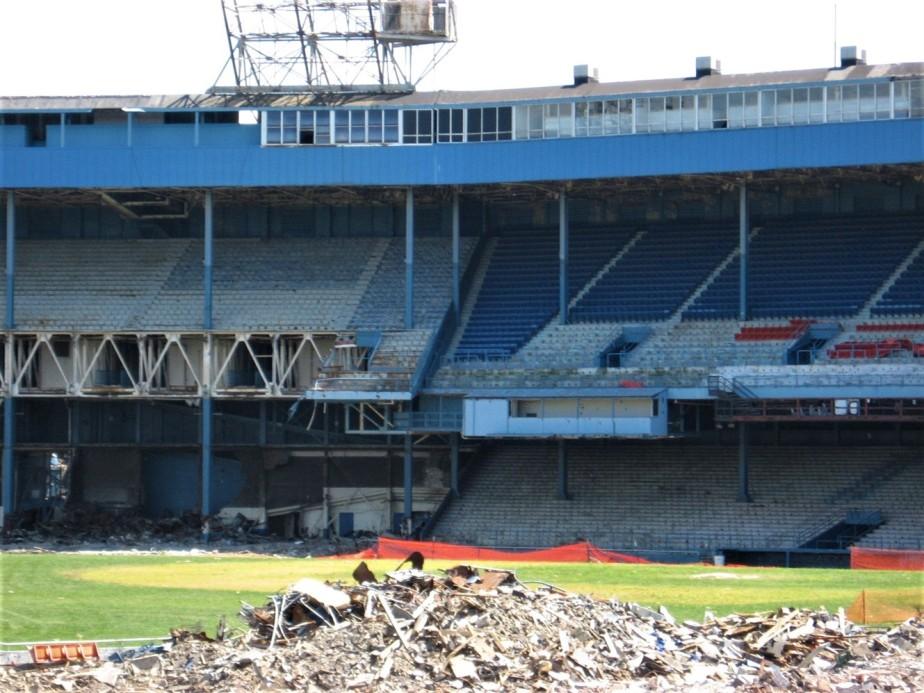 Detroit – August 2008 – Tiger StadiumDemolition