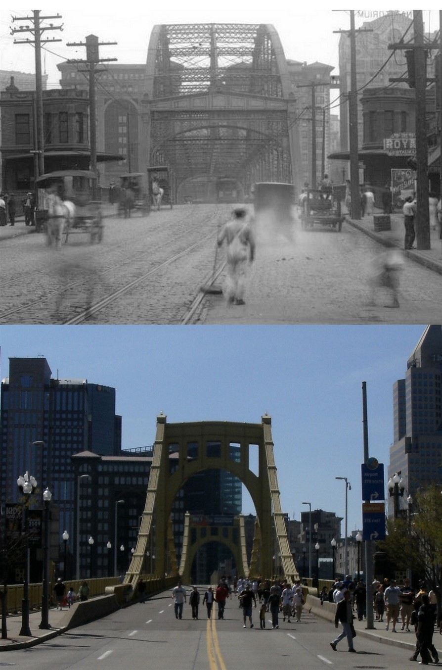 Pittsburgh – Then and Now