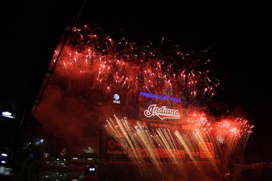 Cleveland – June 2009 – Baseball andFireworks