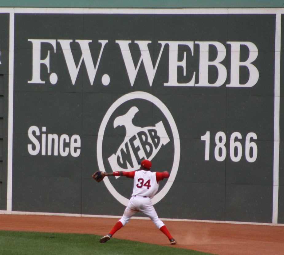 Boston – July 2010 – Minor League Day at Fenway