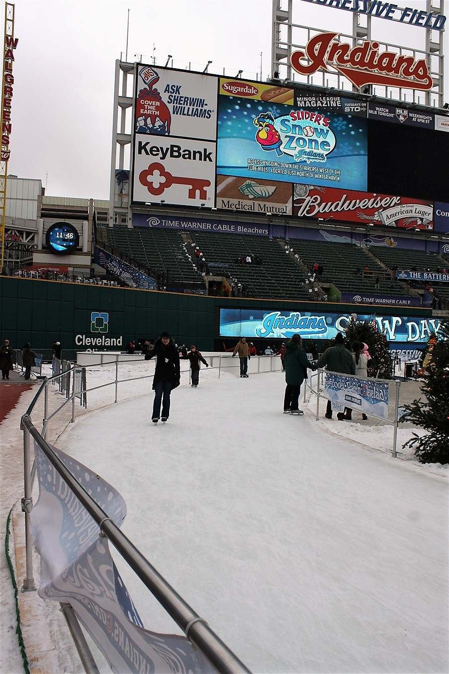 2010 12 27 Cleveland Jacobs Field Snow Days 5.jpg