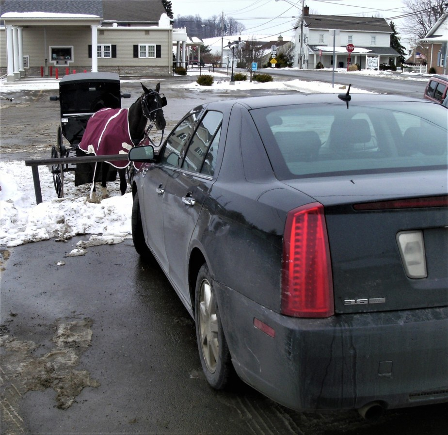 2011 01 15 Cadillac in Amish Country.jpg