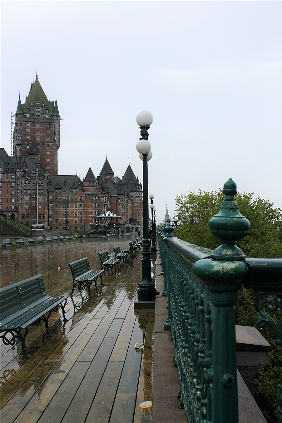 Quebec City – May 2011 – Even Wetter