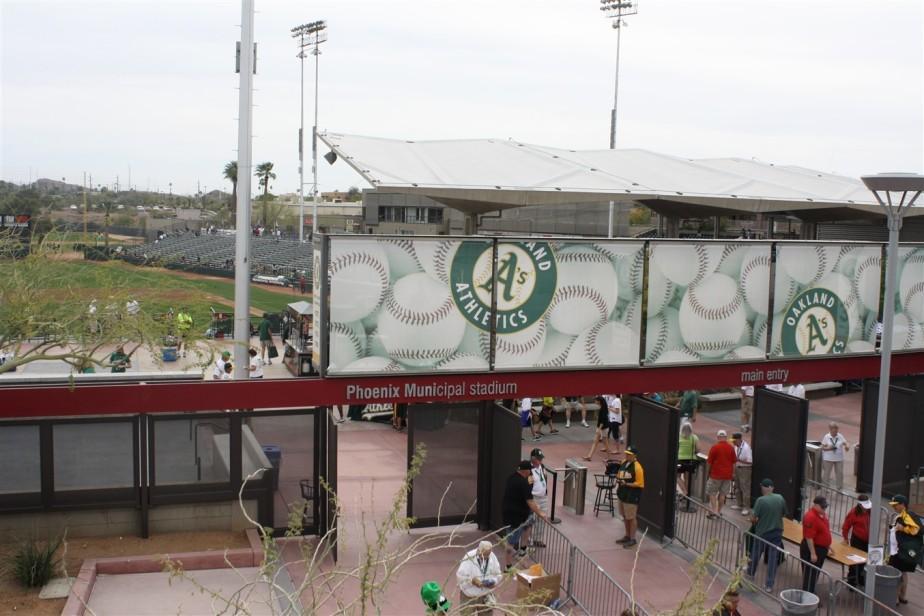 2012 03 17 13 Phoenix Muni Stadium A's Spring Training.jpg