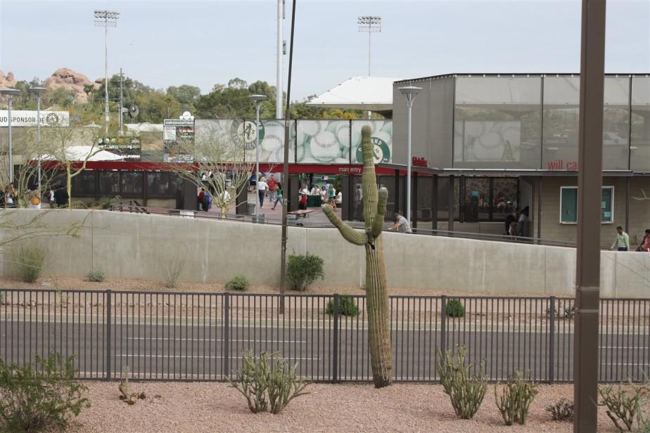 2012 03 17 79 Phoenix Muni Stadium A's Spring Training.jpg