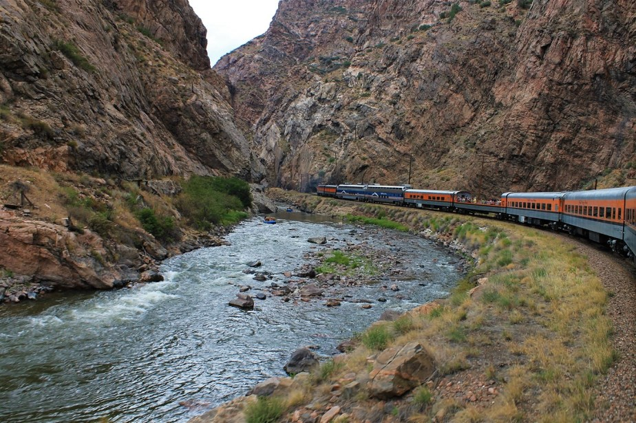 Colorado Mountains – 2012 Road Trip – Day 8 – Independence Pass & Royal Gorge Railroad