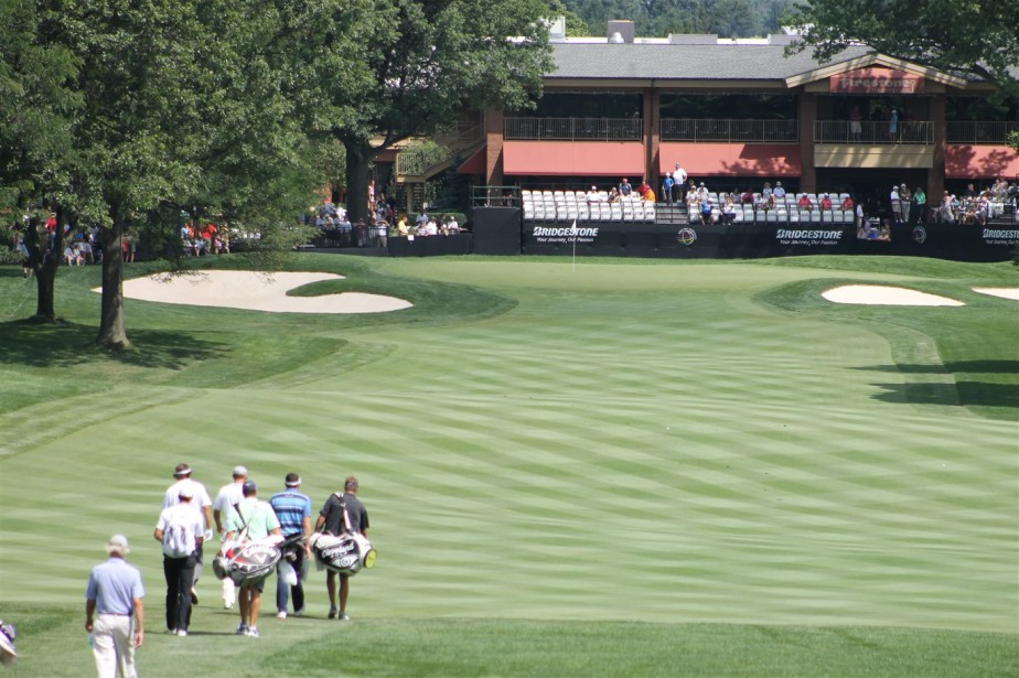 Akron – August 2012 – Firestone Country Club World Golf Championship