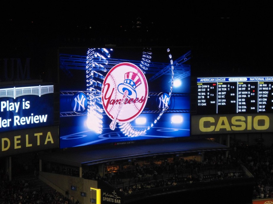 Bronx, NY – October 2012 – Yankee Stadium Baseball
