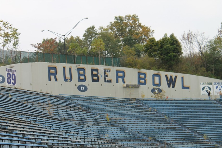 Akron – October 2013 – Death of the Rubber Bowl