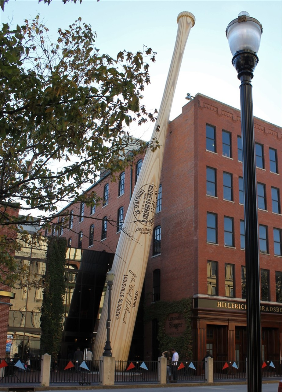 Louisville – October 2013 – Baseball Bat Factory Tour