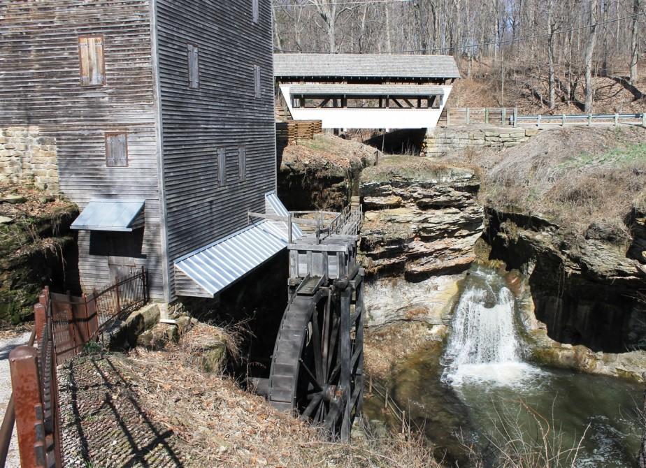 Fairfield County, Ohio – April 2015 – Covered BridgeTour
