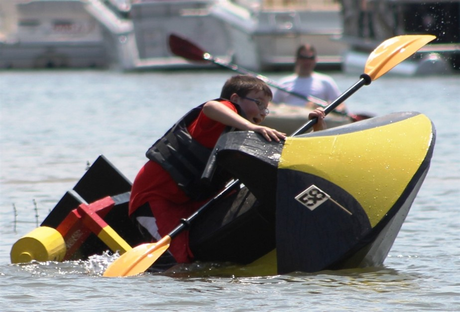 New Richmond, OH – August 2015 – Cardboard Boat Races