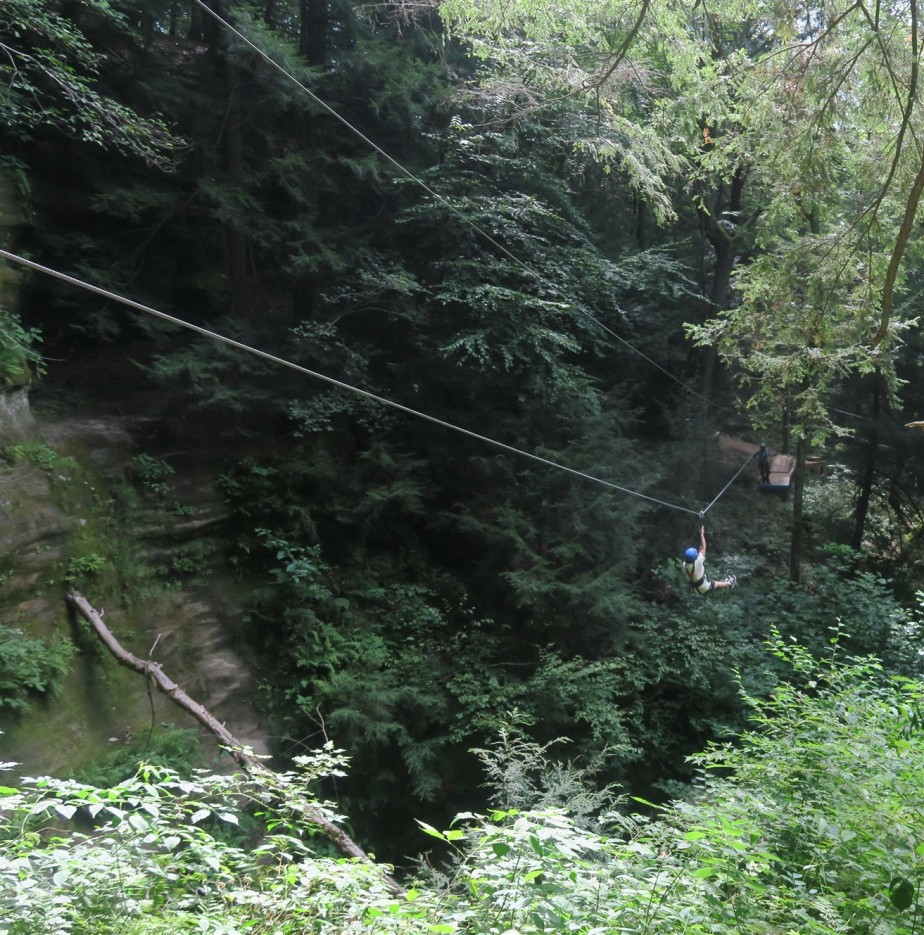 Hocking Hills, OH – August 2015 – Zip Lines &Canoeing