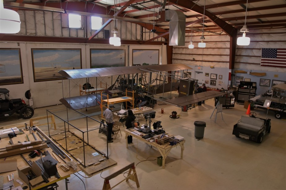 Miamisburg, OH – February 2016 – Wright B Flyer & Fort Ancient Native Site