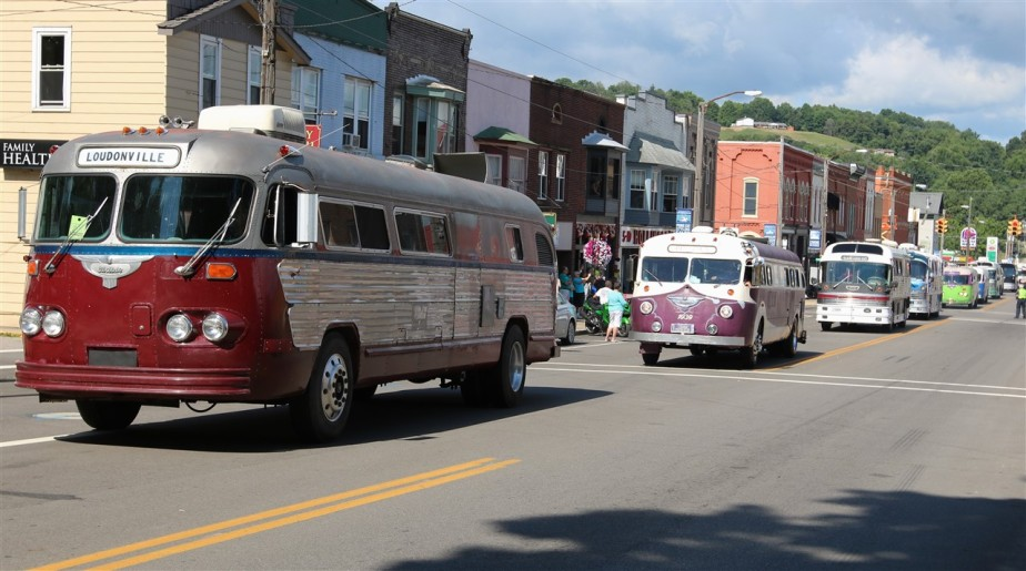 Loudenville, OH – July 2016 – Flxible Bus Gathering