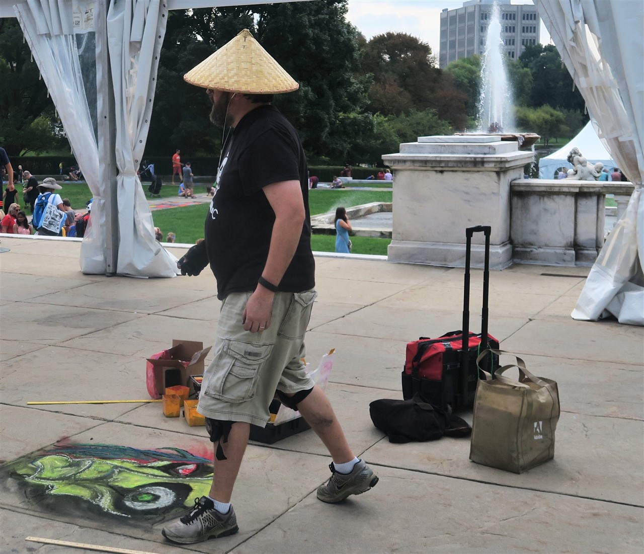 2016 09 18 7 Cleveland Museum of Art Chalk Art.jpg