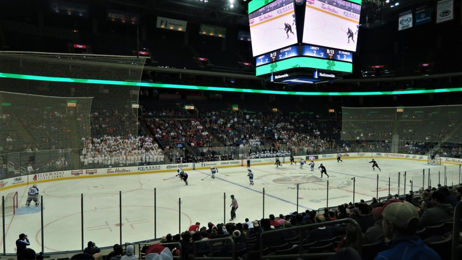 Columbus – March 2017 – High School Hockey State Championship Semi Final Game
