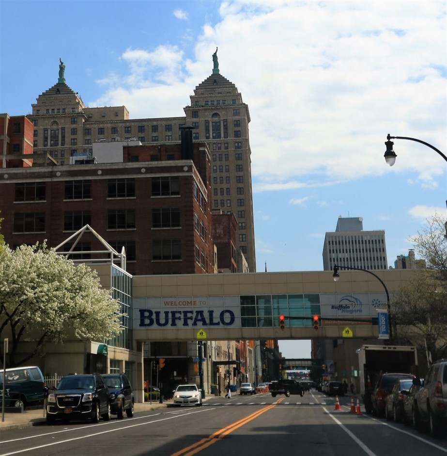 Buffalo – May 2017 – Downtown and Harbor Area highlights