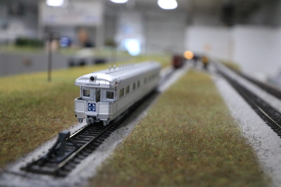 Hilliard, OH – May 2017 – N Scale Model Trains