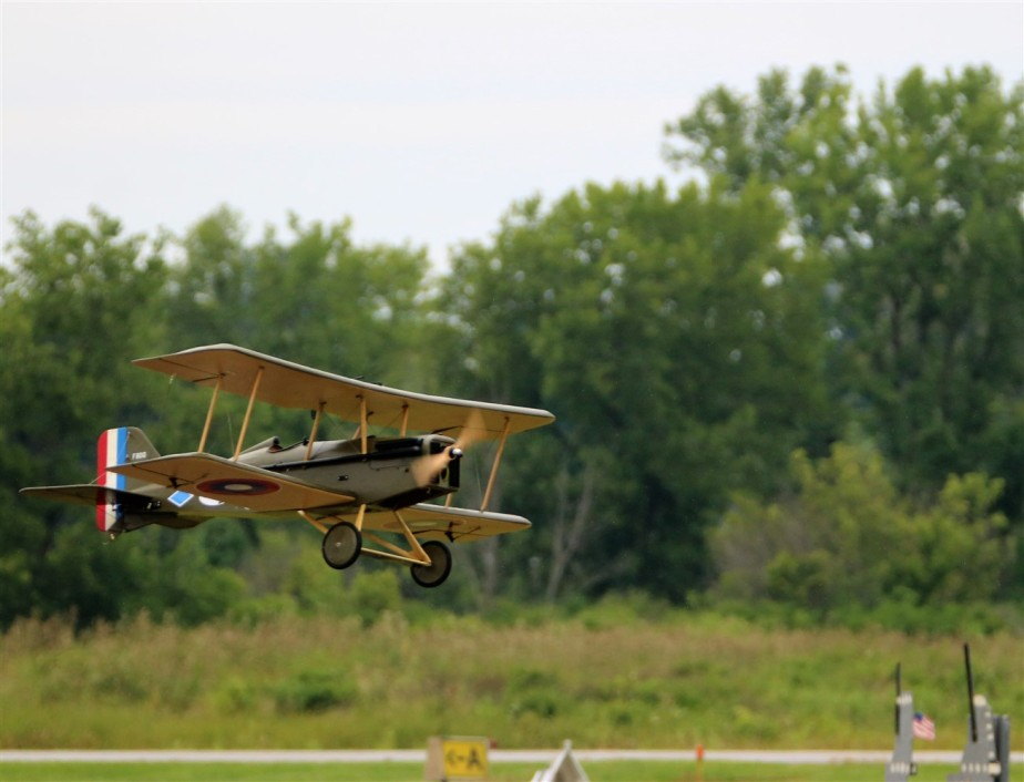 Hamilton, OH – August 2017 – Remote Control Airplane 'FlyingCircus'