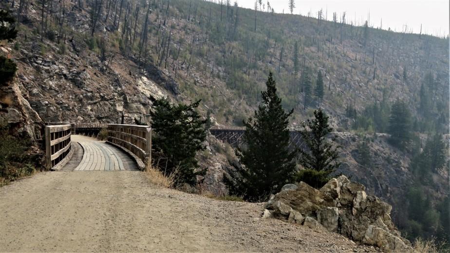 2017 09 07 86 Kelowna BC Myrna Canyon Tresle Trail.jpg