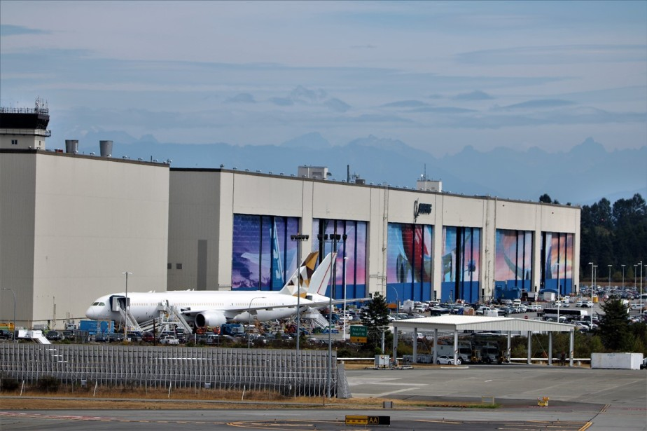 Everett, Washington – September 2017 – Boeing Factory Tour