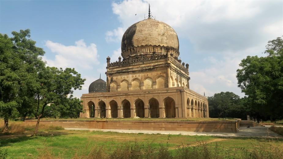Hyderabad, India – November 2017 – Qutb ShahiTombs