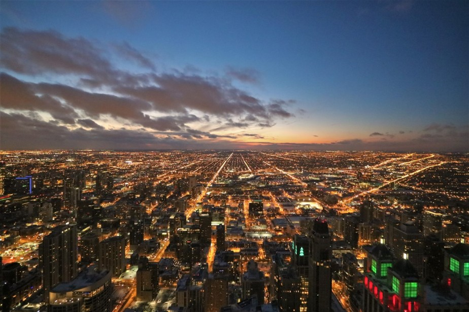 Chicago – December 2017 – ChristmasSunset