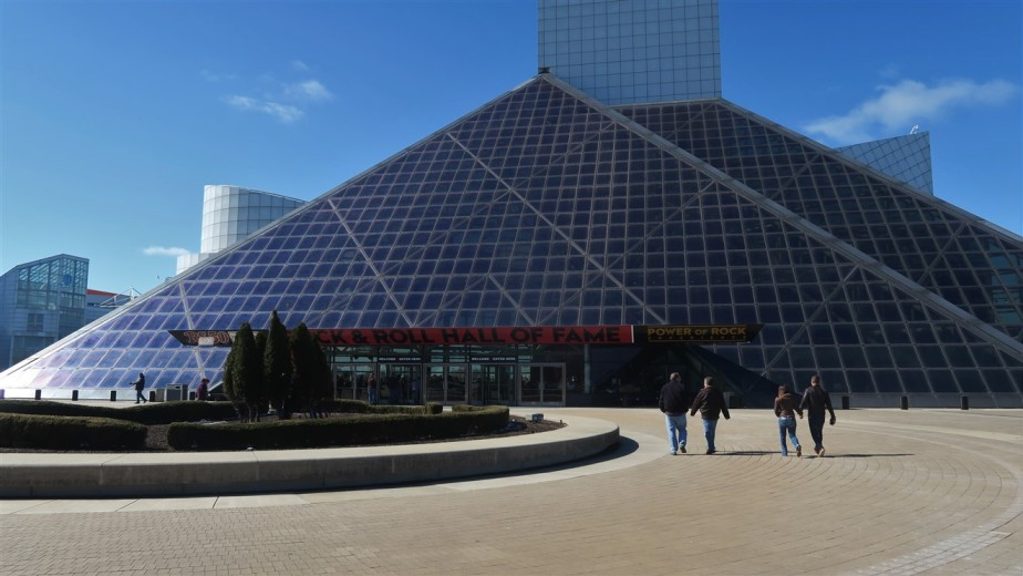 Cleveland – March 2018 – Rock & Roll Hall of Fame