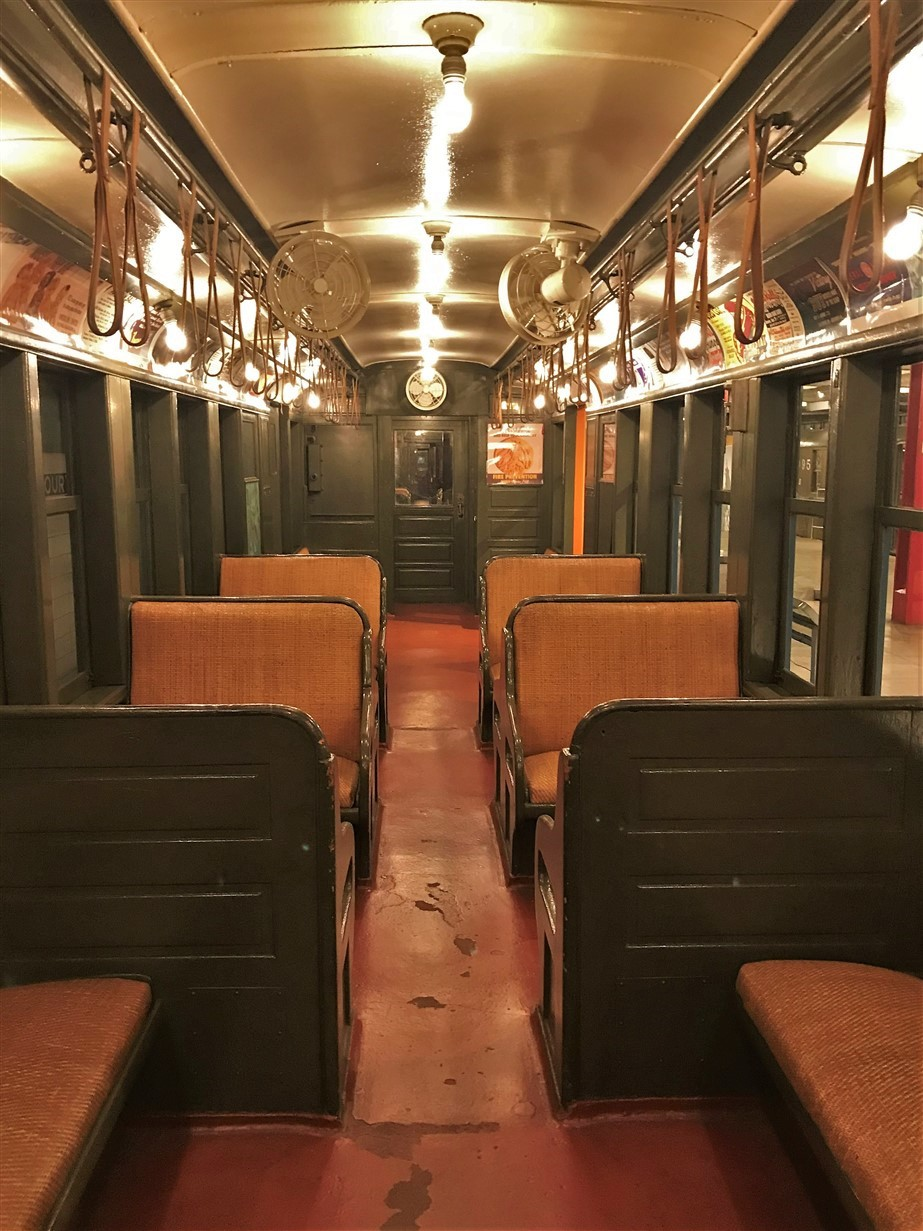Brooklyn – May 2018 – Vintage Subway Car Interiors