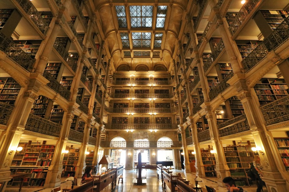 Baltimore – May 2018 – George Peabody Library