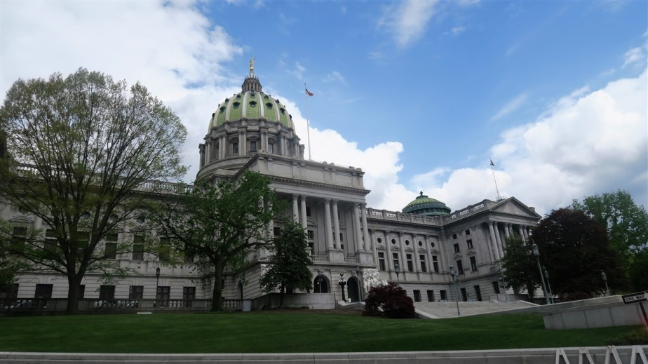 Harrisburg, PA – May 2018 – Pennsylvania State Capital