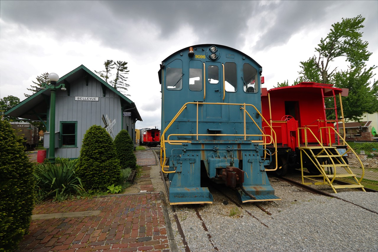 2018 05 19 115 Bellevue OH Mad River & Nickel Plate Railroad Museum