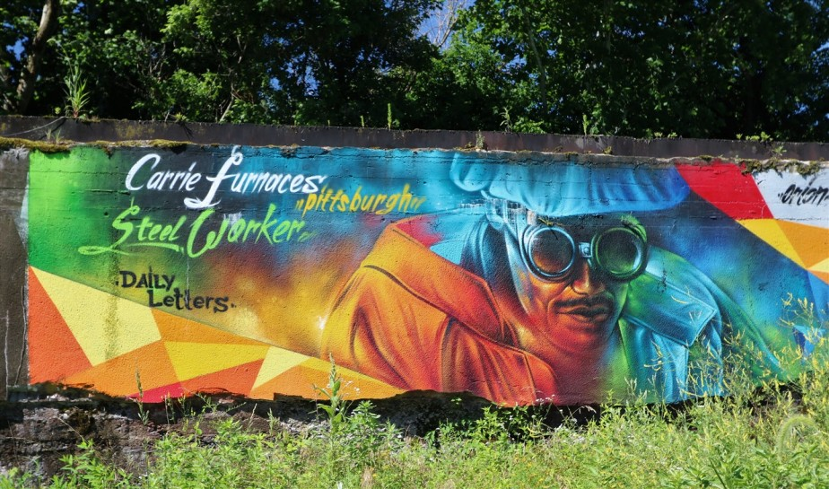 Swissvale, PA – July 2018 – Rust Belt History and Art