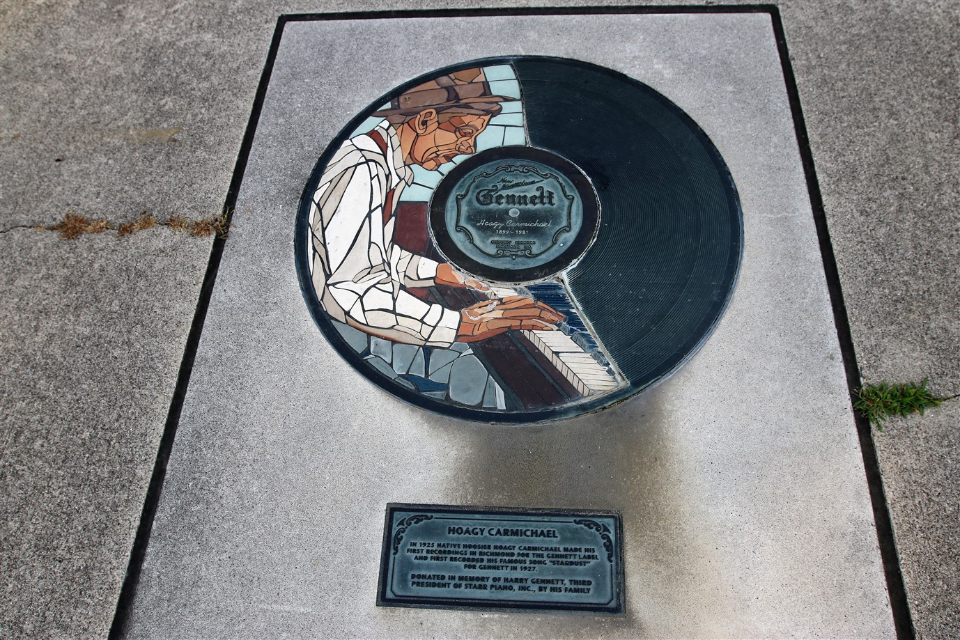 2018 07 17 419  Richmond IN Gennett Records Walk of Fame.jpg