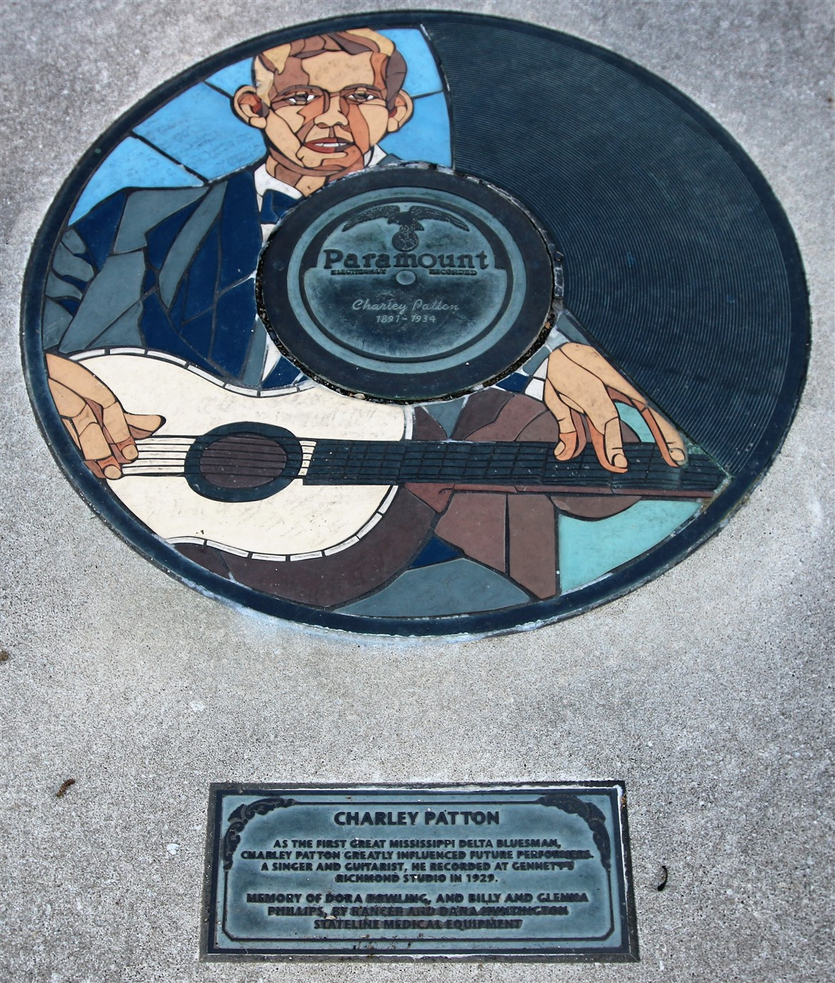 2018 07 17 430  Richmond IN Gennett Records Walk of Fame.jpg