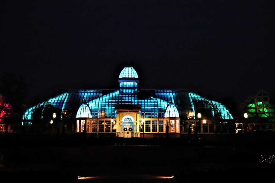 Columbus – December 2018 – Franklin Park Conservatory Holiday LightsRevisit