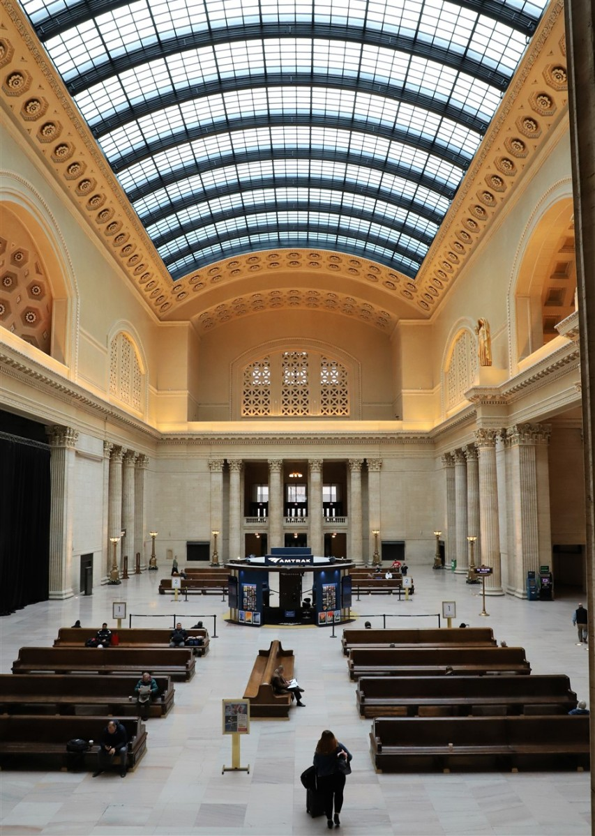 Chicago February 2019 Union Station Architectural Tour