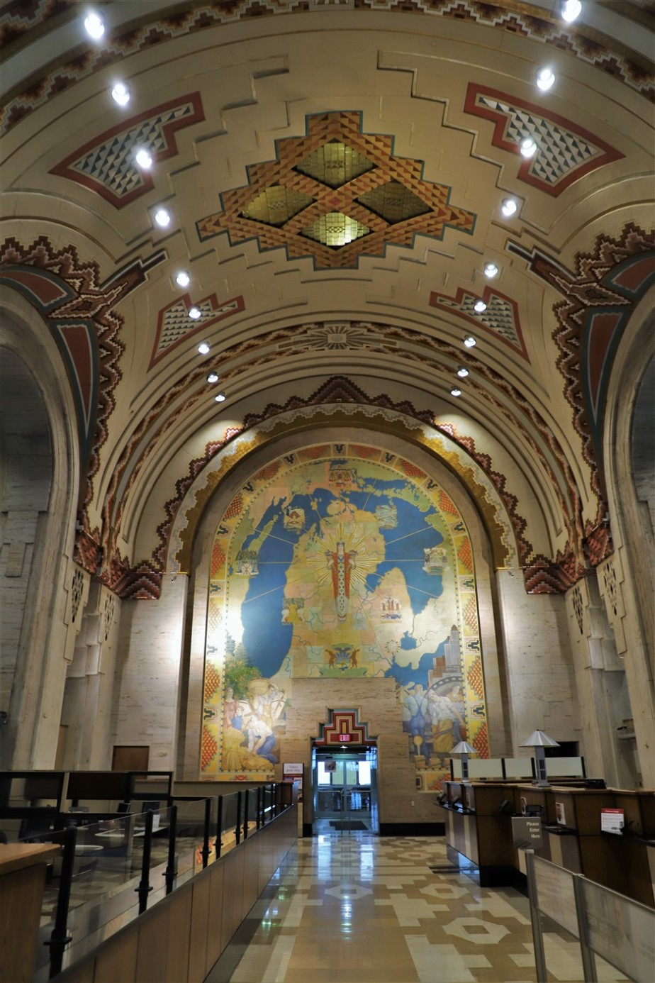 Detroit – April 2019 – The Guardian Building