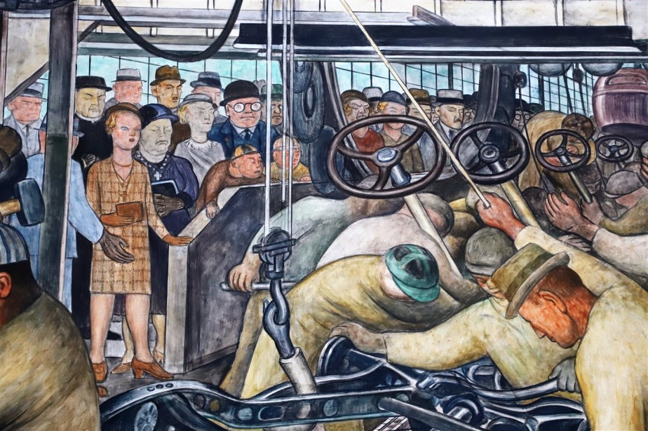 Detroit – April 2019 – Diego Rivera Murals