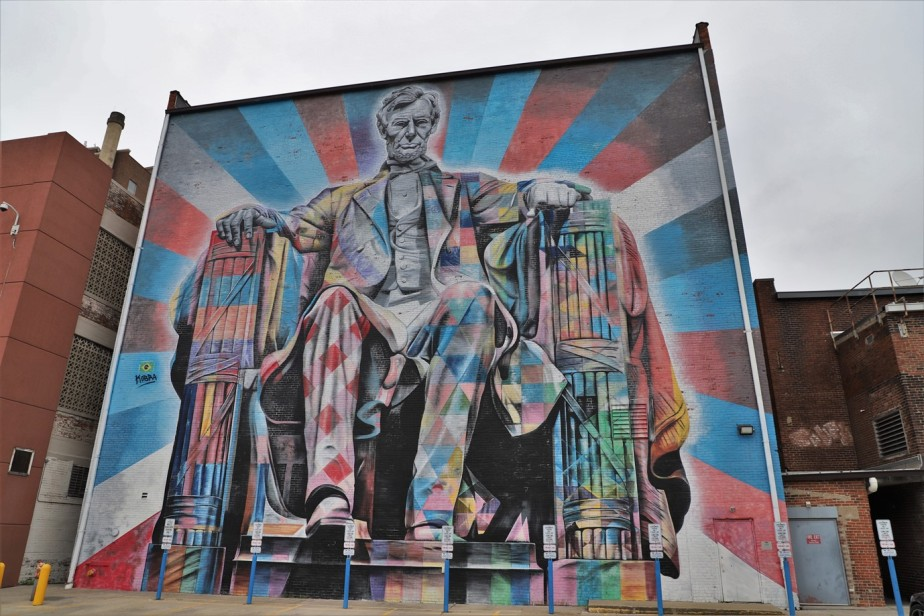 Lexington, Kentucky – May 2019 – Mural City