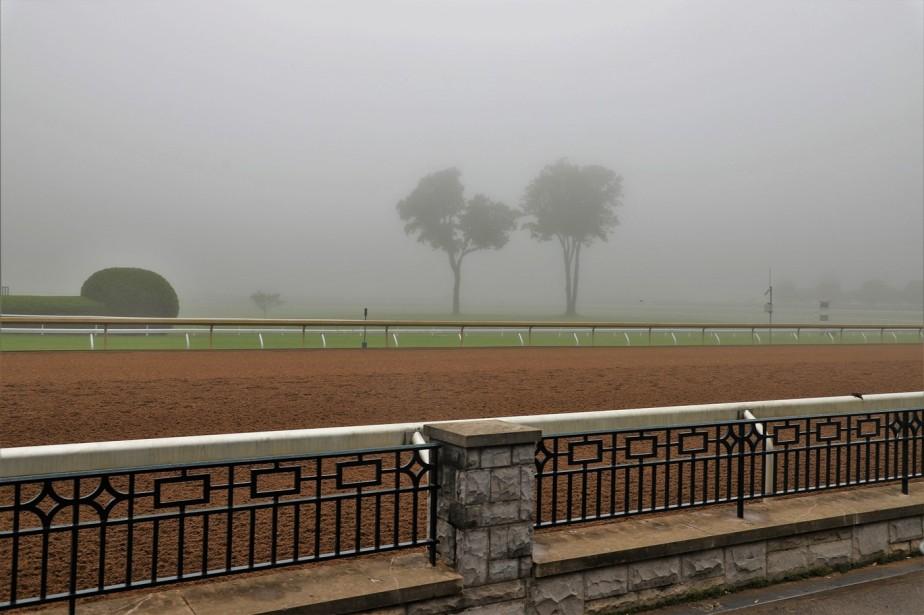 Lexington, Kentucky – May 2019 – A Damp Quiet Morning atKeeneland