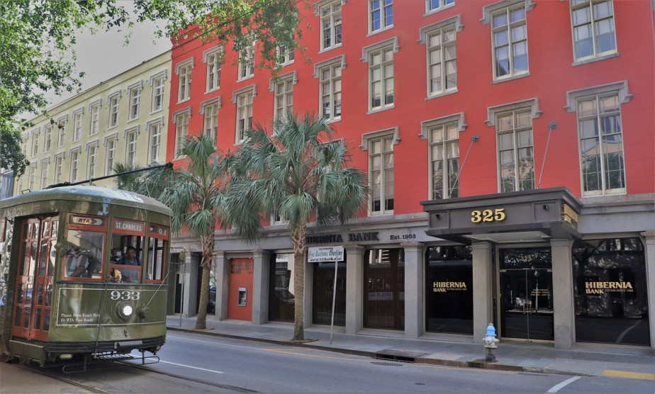New Orleans – May 2019 – St Charles StreetcarLine