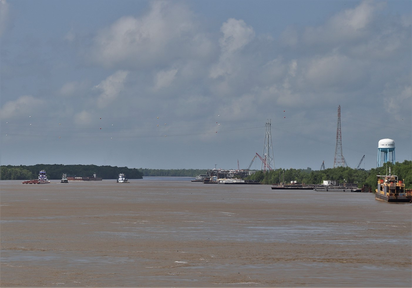 Morgan City, Louisiana – May 2019 – Offshore Oil Rig Museum