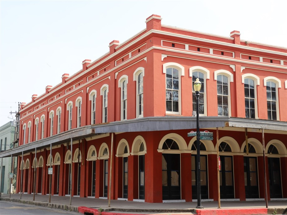 Galveston, Texas – May 2019 – The Strand Historic District