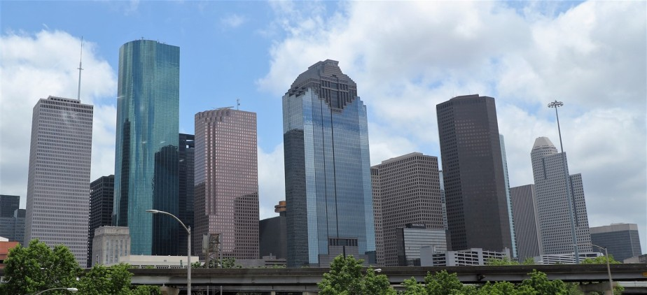 Houston – May 2019 – Modern Skyscrapers – Updated