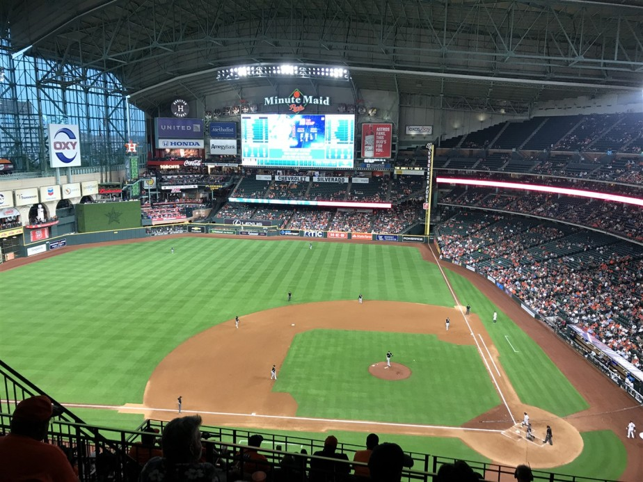Houston – May 2019 – Sights at the Baseball Game